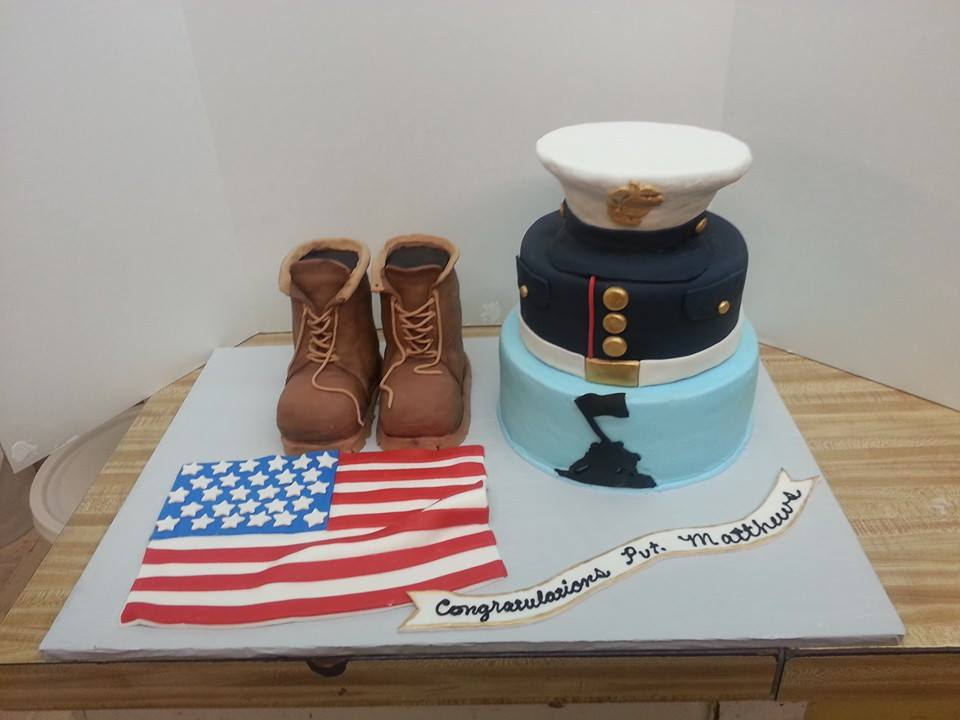 Military Cakes